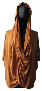 Rayon Hooded Drape Tunic