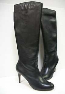 Corso Como Dapper Silk Calf High Heel In Box Black Boots