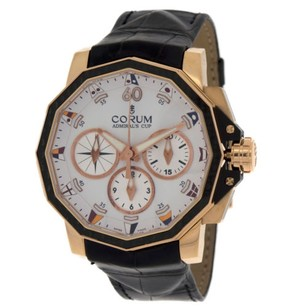 Corum Corum Admirals Cup 986.691.13 0001aa32 18k Rose Gold Automatic Mens Watch