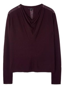 COS Top Aubergine