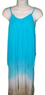 turquoise & beige Maxi Dress by Cruel Girl