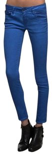 Cult of Individuality Blue Teaser Skinny Leg 160970a Tag Skinny Jeans