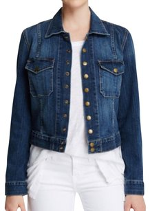 Current/Elliott Dark Blue Womens Jean Jacket