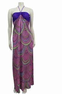 purple multi Maxi Dress by Custo Barcelona Edythe