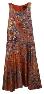 Cynthia Rowley Womens Orange Dress