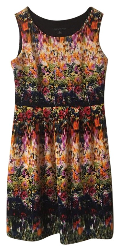 Cynthia Rowley Watercolor Floral Dress