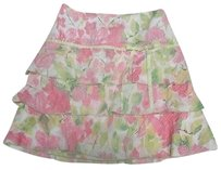 Cynthia Steffe Tiered Skirt Multi-Color