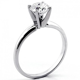 Other Natural Diamond Engagement Ring Round Cut 1.01 Cts