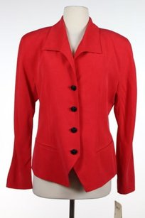 Dana Buchman W Tags Womens Red Jacket