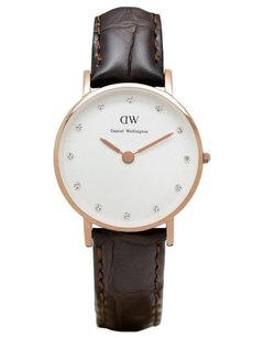 Daniel Wellington Daniel Wellington Female York Watch 0902DW Rose Gold Analog