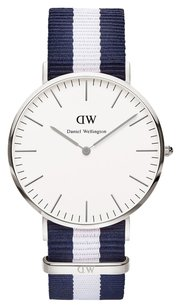 Daniel Wellington Daniel Wellington Male Glasgow Watch 0204DW Silver Analog
