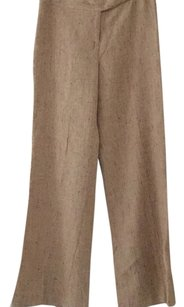 David Meister Wide Leg Pants Beige