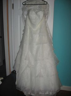 David's Bridal Forever Yours Wedding Dress