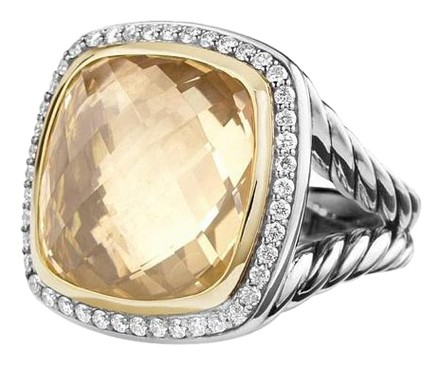 Champagne Citrine Albion Ring
