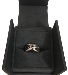 David Yurman Black And White Diamonds Crossover