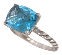 David Yurman David Yurman Color Classics Faceted Topaz Ring