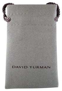 David Yurman David Yurman Small Divider Grey Jewelry Earring Ring Pouch