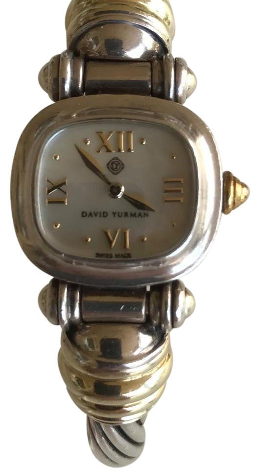 david yurman david yurman sterling silver cable watch with 18k gold accents