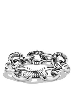 David Yurman XXL Oval Chain Bracelet