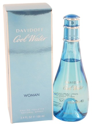 davidoff Cool Water By Davidoff Eau De Toilette Spray 3.4 Oz