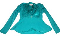 Daymor Couture Vintage Clothing Top blue
