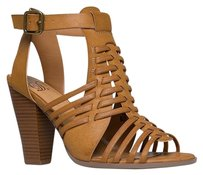 Delicious Heels-and-pumps Brown Sandals