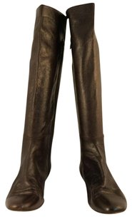Delman Womans Mid Brown Boots