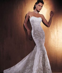 Demetrios 900 Wedding Dress