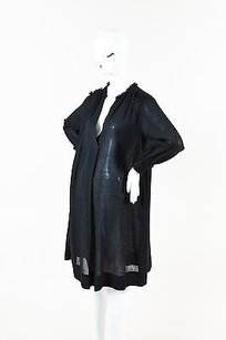 Derek Lam short dress Black Sheer on Tradesy