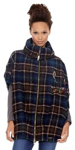 Desigual Coat Jacket New With Tags Cape