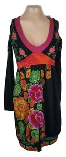 Desigual short dress Multi-Color Desiqual Mila Floral on Tradesy