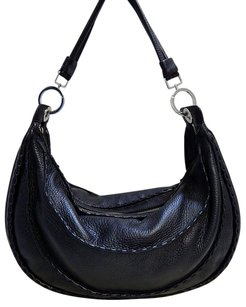 Desmo Italy Pebbled Shoulder Bag