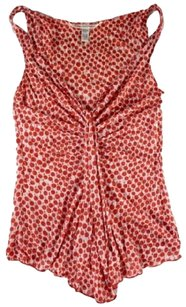 Diane von Furstenberg Top Red / White