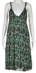Diane von Furstenberg Womens Printed Knee Length Sheath Dress