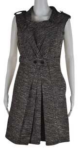 Diane von Furstenberg short dress Black Shift on Tradesy