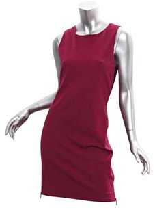 Diane von Furstenberg short dress Magenta Womens on Tradesy