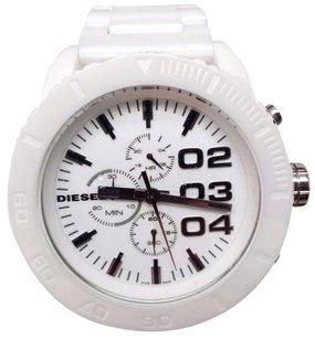 Diesel Diesel Mens Chronograph White Ceramic Watch Dz4220
