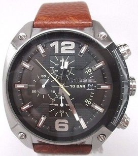 Diesel Diesel Overflow Chronograph Leather Mens Watch Dz4296