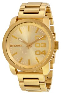 Diesel DZ1466 Franchise All Gold Ion-plated Unisex Watch