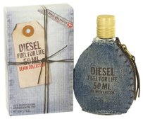 Diesel FUEL FOR LIFE DENIM by DIESEL ~ Men's Eau De Toilette Spray 1.7 oz