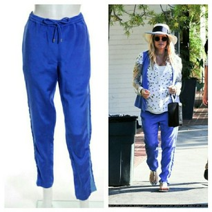 Dion Lee Athletic Pants blue
