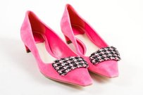 Dior Christian Suede Pink Flats