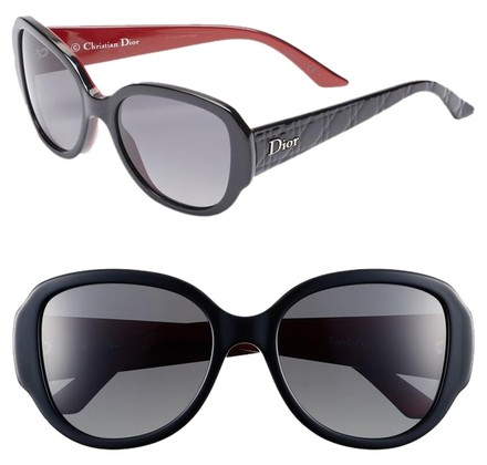 Preload https://item5.tradesy.com/images/dior-black-and-red-ladylady-sunglasses-3348964-0-0.jpg?width=440&height=440
