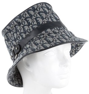Dior Blue, creme canvas Christian Dior Diorissimo bucket hat