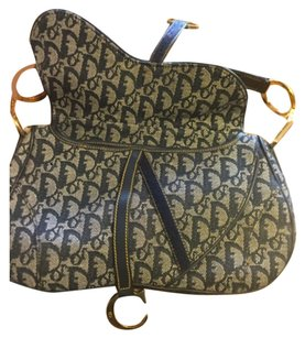 Dior Cd Christian Saddle Shoulder Bag