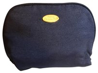 Dior Christian Dior Parfums Cosmetic Bag Navy Fabric
