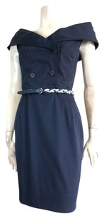 Dior short dress Blue on Tradesy