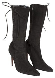 Dior Christian Womens Black Boots