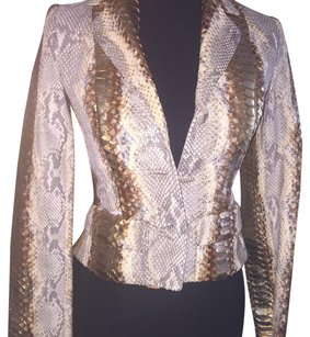 Dior Gold Leather Jacket