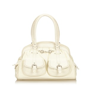 Dior Ivory Leather Others 6hdrsh017 Shoulder Bag